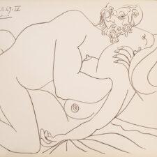 Pablo Picasso - Nu Couche IV