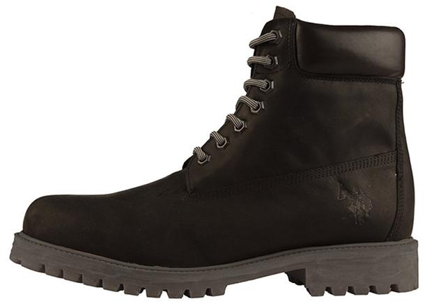 882dc832a1f Класически модел високи обувки от набук (150 лв.) с гумена подметка и  вътрешна част от кожа, които изглеждат достатъчно стабилно с овален връх,  ...