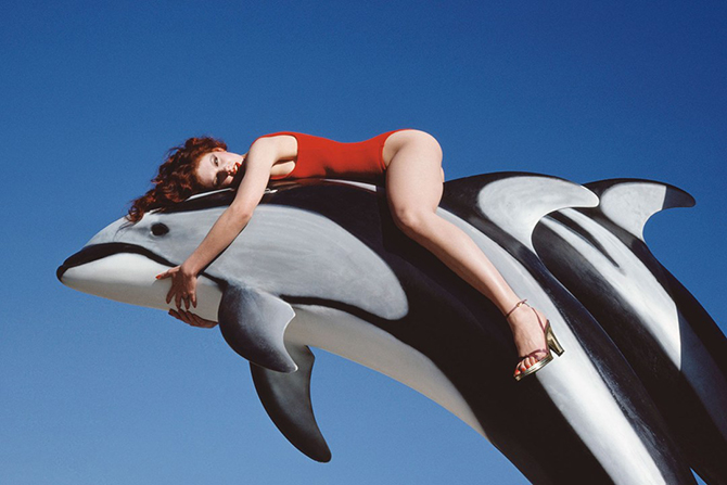 Charles Jourdan, Spring 1976, от Guy Bourdin © Guy Bourdin Estate 2014 / A+ C