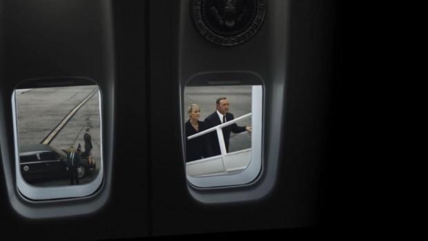 Господин Президент? - Kevin Spacey и Robin Wright в House of Cards © Netflix