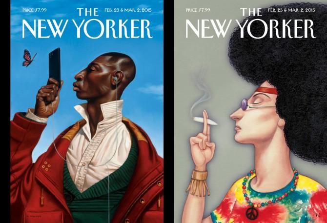 Ляво: Kadir Nelson / Дясно: Anita Kunz
