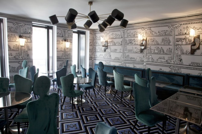 Ресторантът на Le Montana © Franck Mura