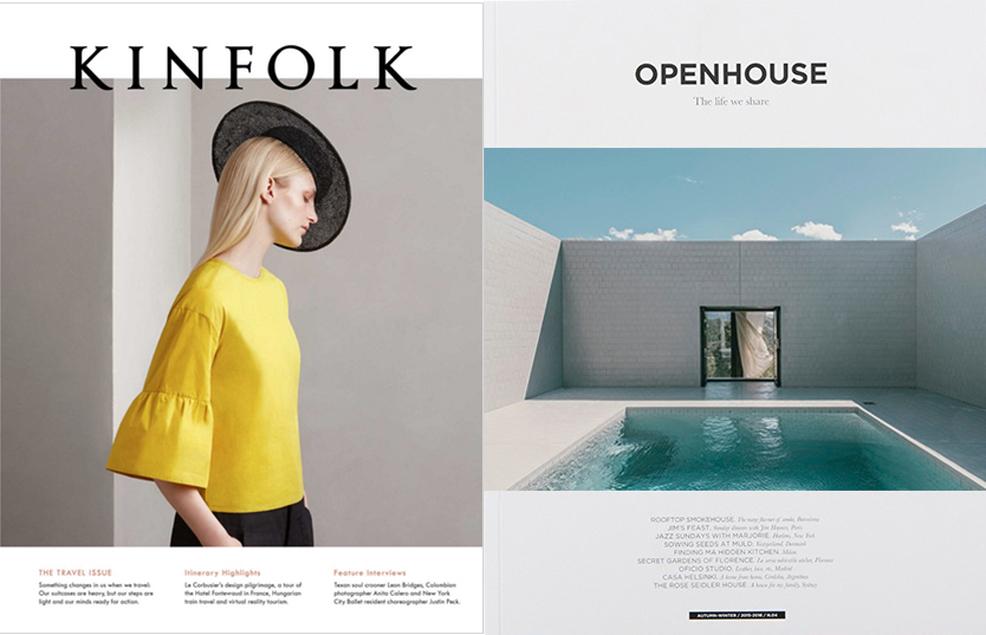 Последният летен брой на Kinfolk, 38 лева / Визуалната оргия с интервютата и фотографията на Openhouse, 38 лева