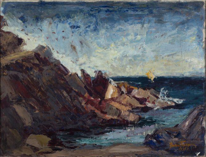 Морски скали на Златю Бояджиев