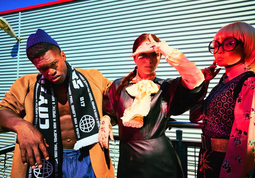 Реми, Марин и Тайван от Симеон Леви / Bliss © 12 Mag