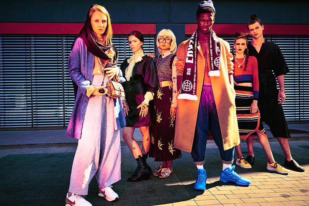 Йоана, Марина, Тайван, Реми, Илона и Калоян от Симеон Леви © 12 Mag