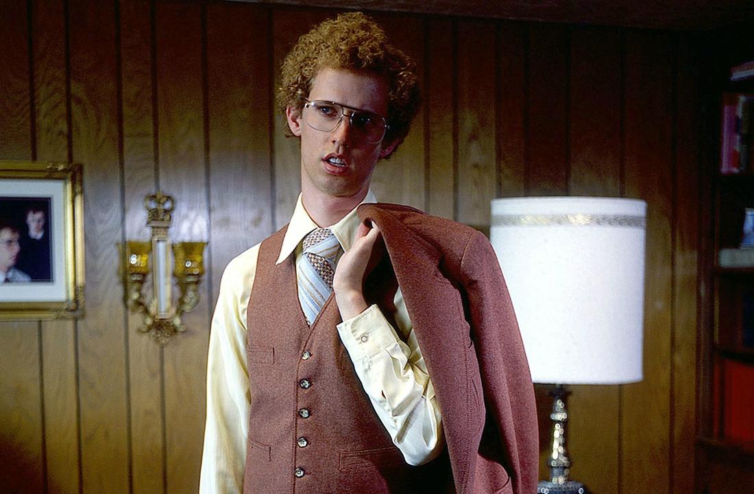 Jon Heder като Napoleon Dynamite, 2004